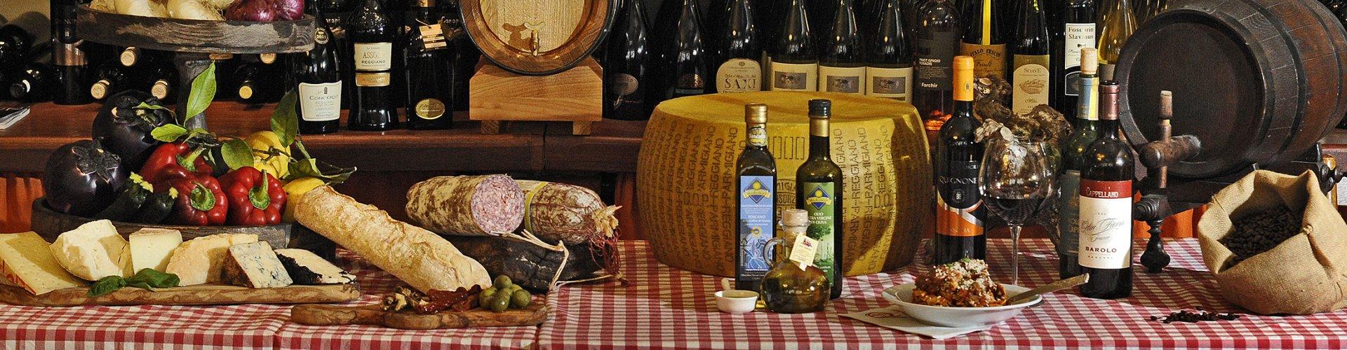 Italiaanse delicatessen overzicht il tartufo Delft