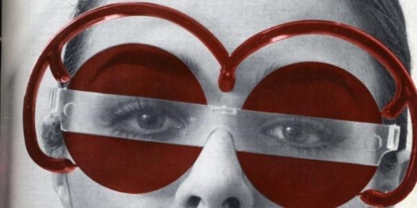 Model met 'Austrian Glasses'