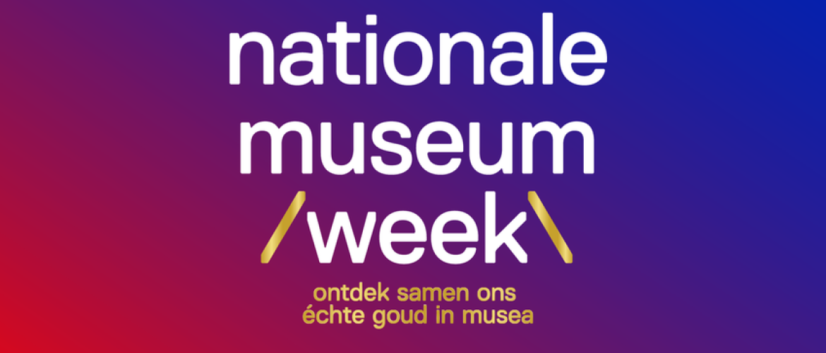 Nationale Museumweek – 19 tot en met 25 april 2021