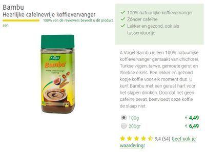 Bambu koffie ervaringen