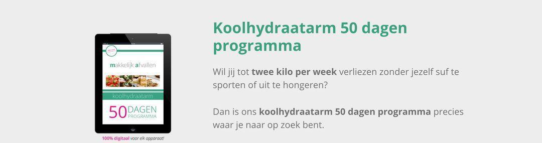 Review Koolhydraatarm 50 dagen programma