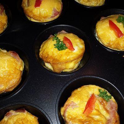 koolhydraatarme ei muffins recept