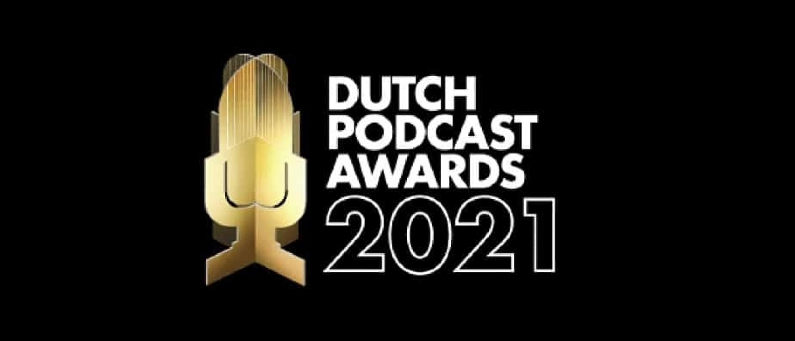 Stem jij op onze podcast? Dutch Podcast Awards 2021
