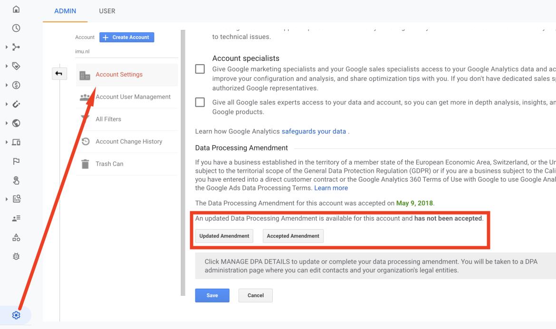 google-analytics-4-amendement-data-processing