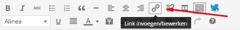 link invoegen bewerken in wordpress