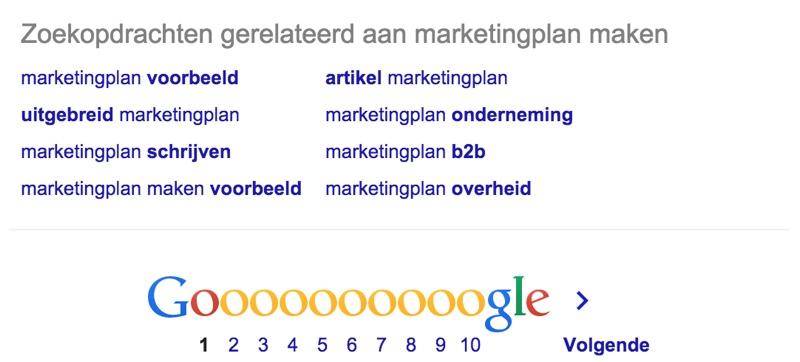 LSI Keywords in Google