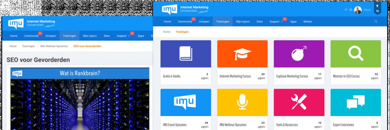 Online marketing e-learning