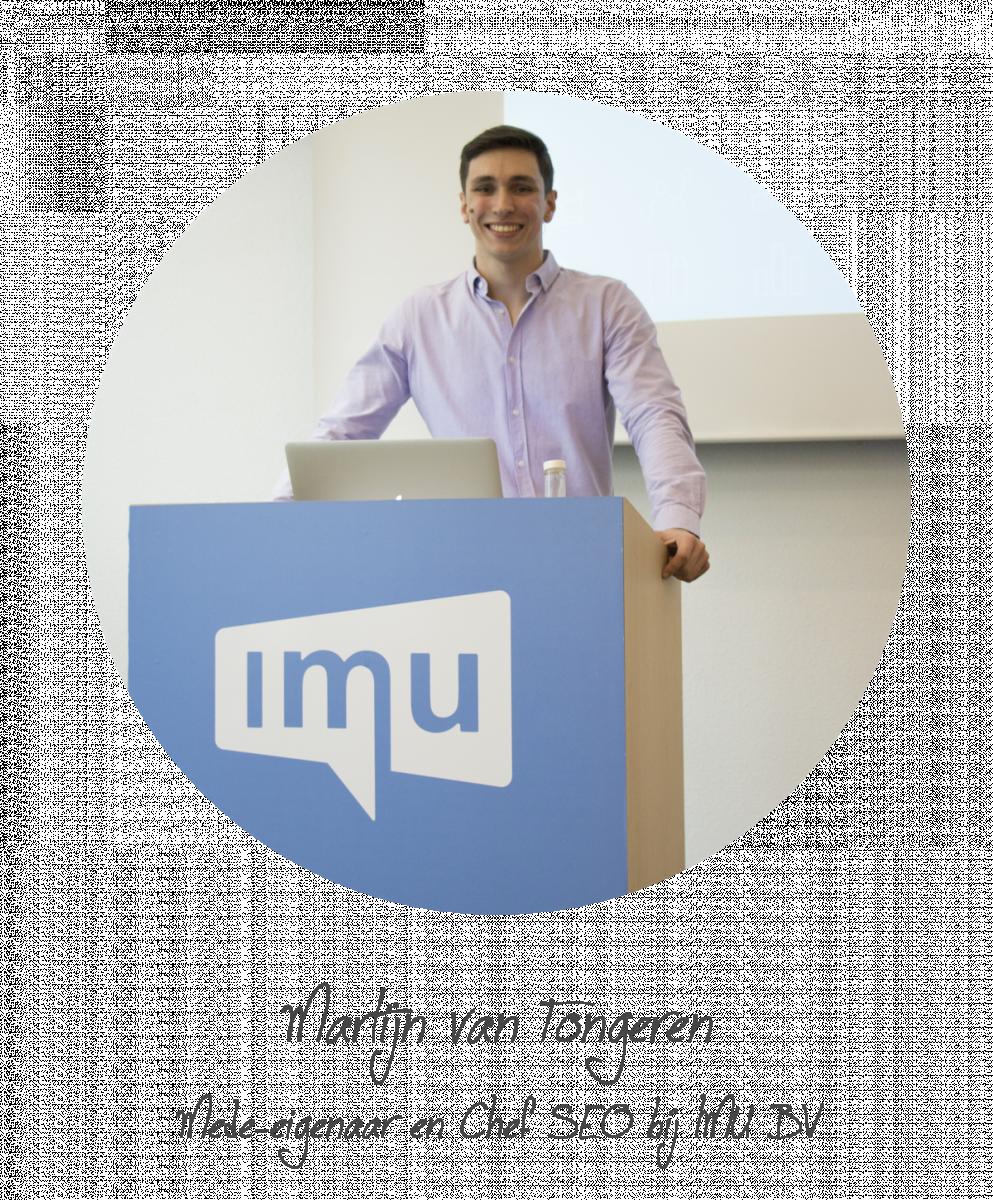 SEO Specialist Martijn van Tongeren
