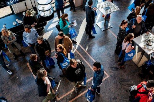 Netwerken tijdens IMU Event