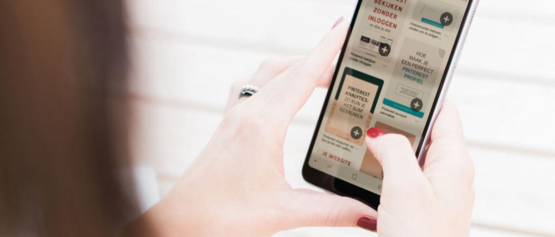 Adverteren op Pinterest: een advertentie opzetten binnen Pinterest in 5 stappen
