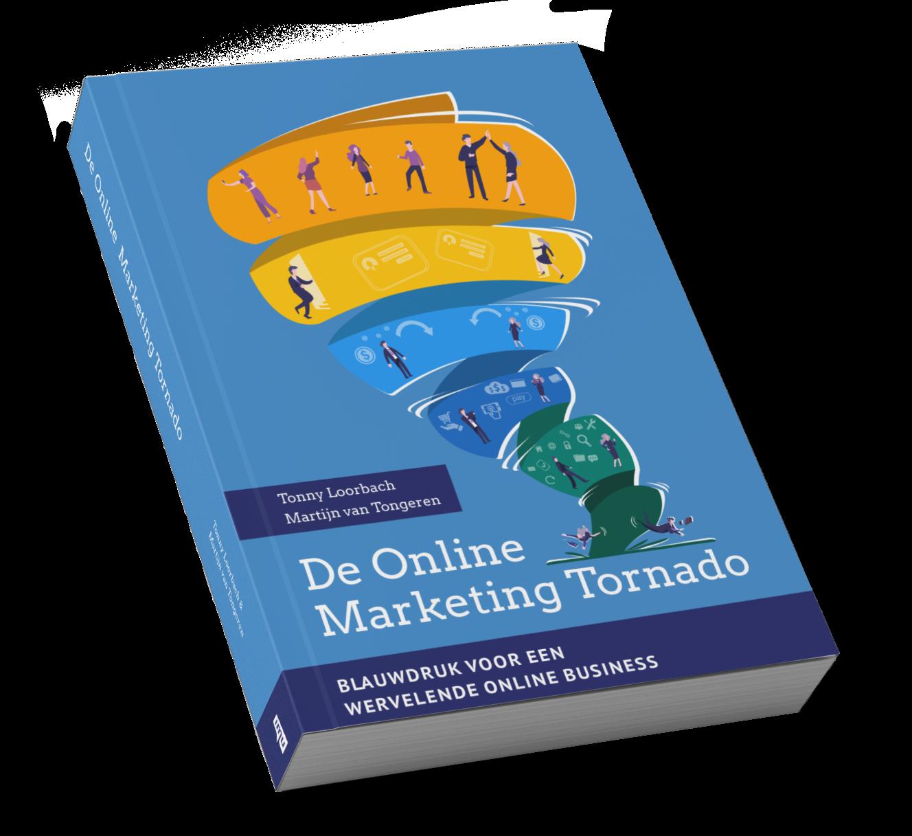 Online marketing tornado cover