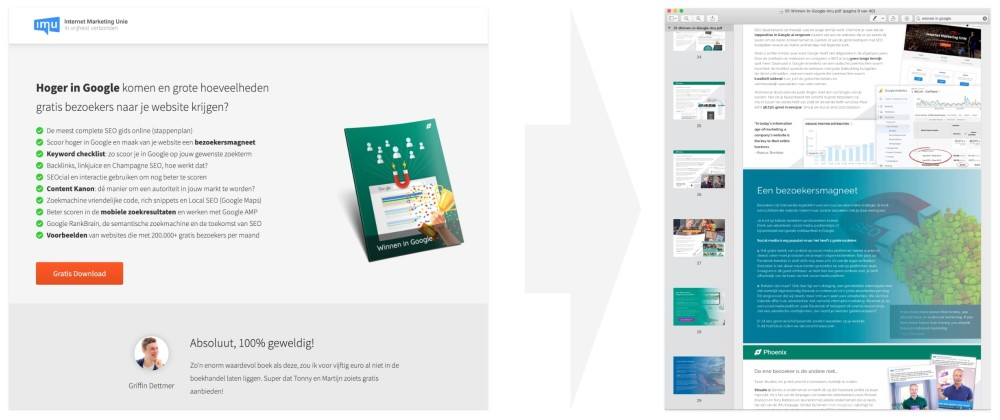 E-book als weggever