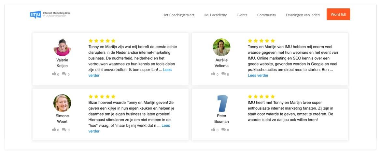 Reviews via Embedsocial