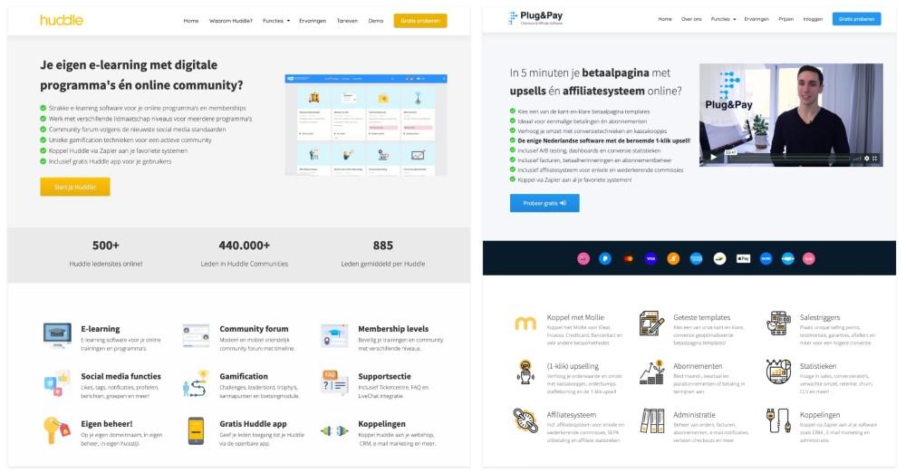 USP's op product websites
