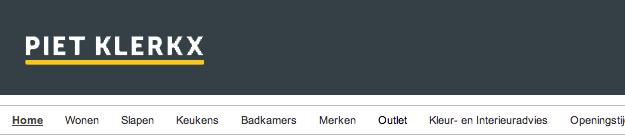 Website zonder tagline