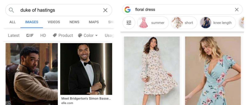 Google Afbeeldingen vermindert het aantal dubbele afbeeldingen in zoekresultaten