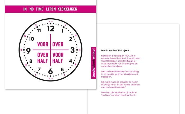 In 'no time' leren klokkijken