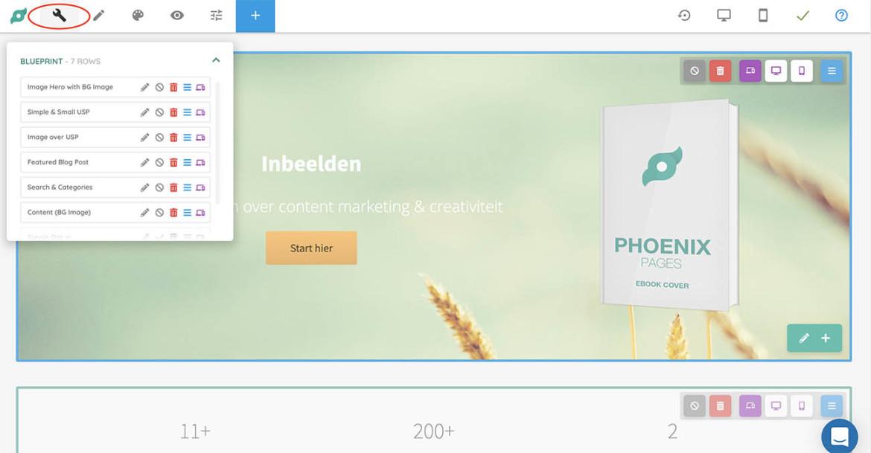 Phoenix website review build mode