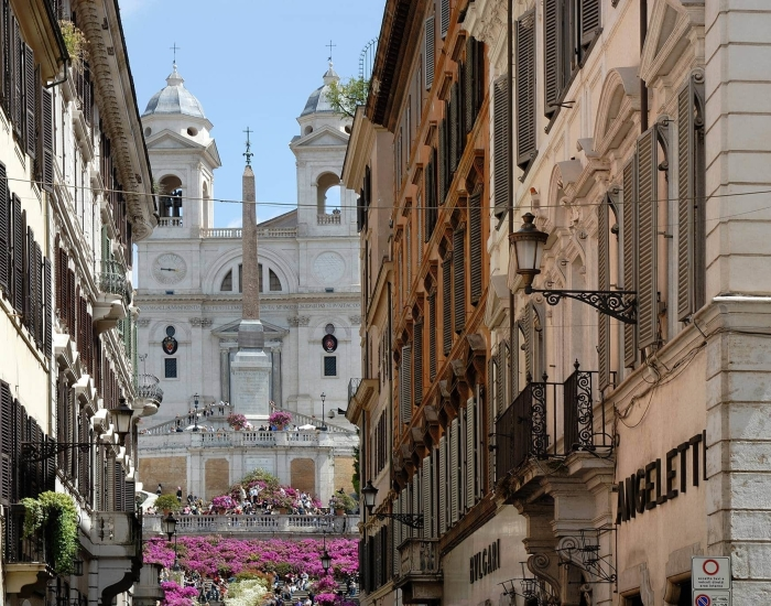 Luxe citytrip Rome, Crossing Condotti