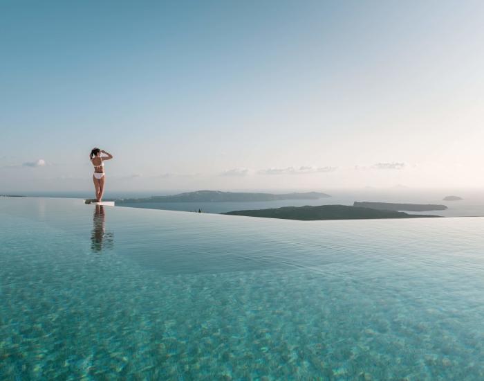 Luxe reis Santorini - Indyque Travel