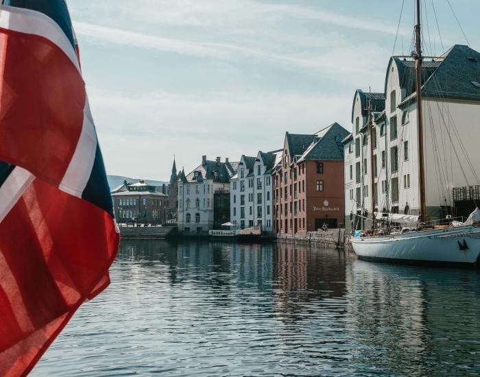 Haven Ålesund, Noorwegen ©Vagafilm