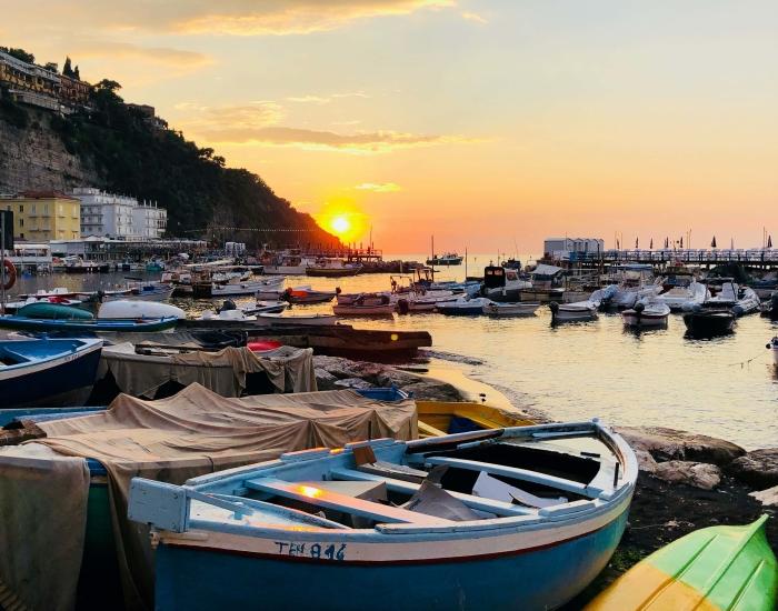 Haven Amalfi, Italië