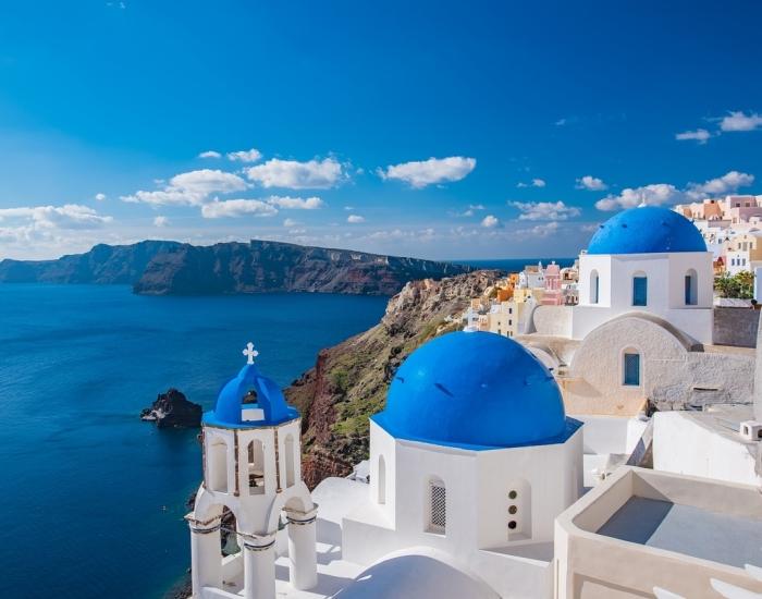 Luxe vakantie Santorini - Indyque Travel