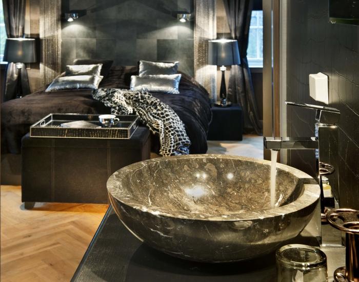 Badkamer London Suite, Herangtunet Noorwegen