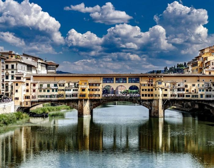 Ponte Vecchio Florence, Italië