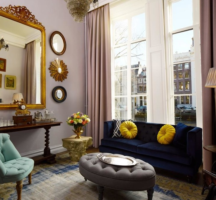 Luxe Antique Collector's Suite in Hotel Pulitzer Amsterdam