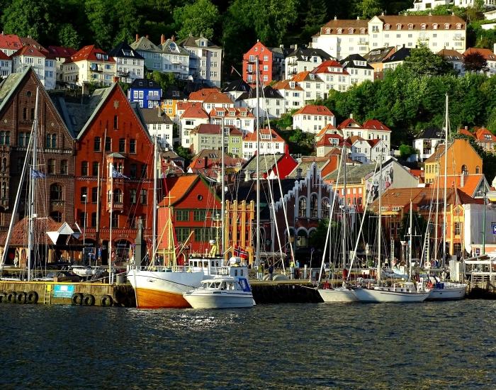 Stedentrip Bergen, Noorwegen