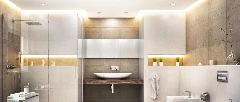 Inspiratie voor verlichting in de badkamer
