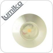 LED inbouwspot Lagos 3.3W Lumiko Klemko