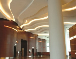 LED strips plafond