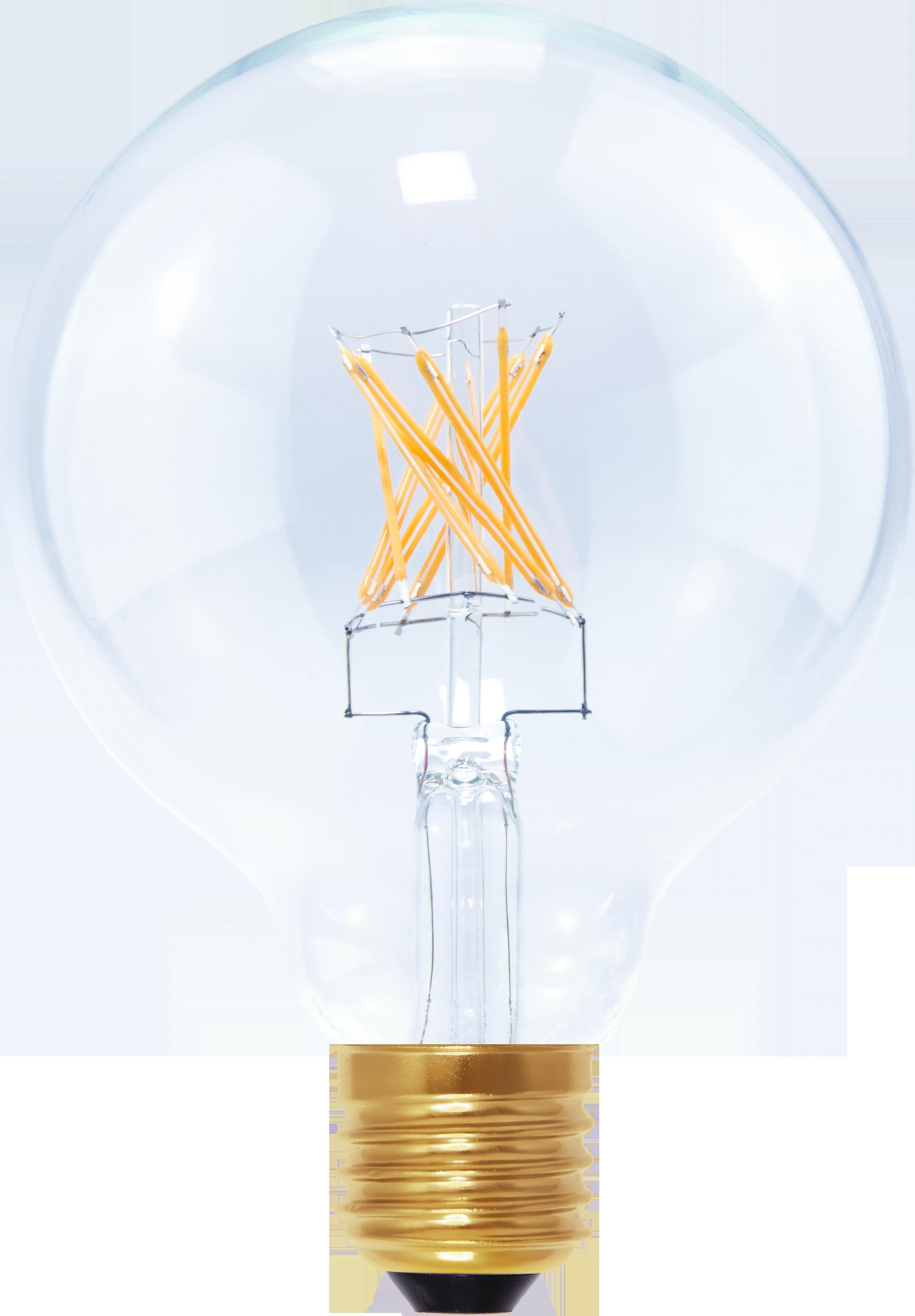 dimbare LED lamp | LED filament globelamp