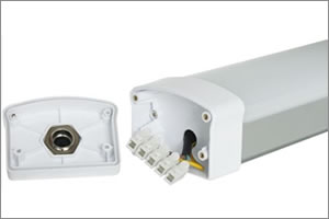 Led armaturen met tl verlichting met een hoge lichtopbrengst per watt