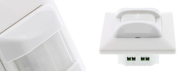 Bewegingssensoren voor het besparen van energie