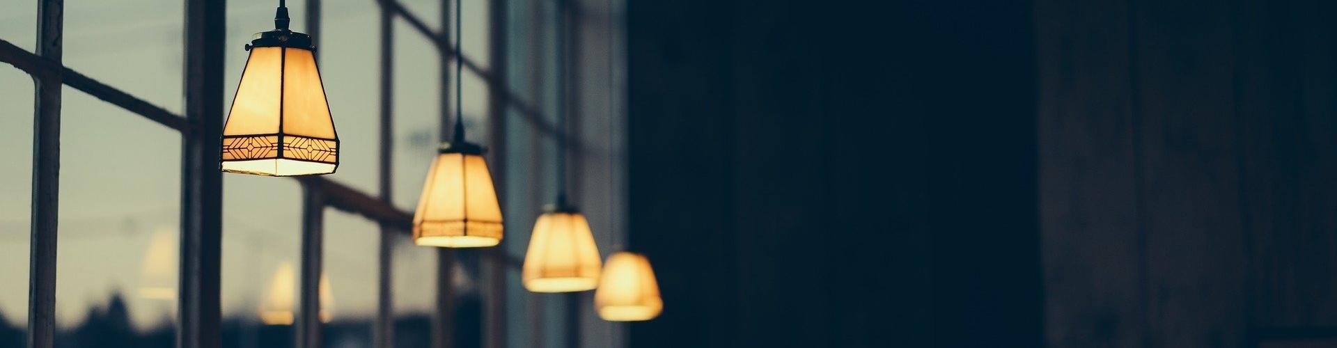 Hangende sfeer lampen