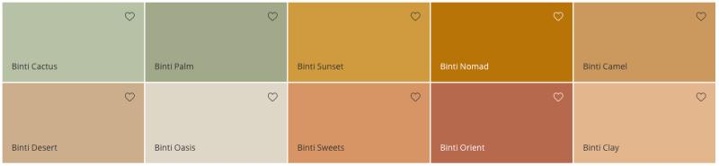 Flexa Binti Home Kleurencollectie