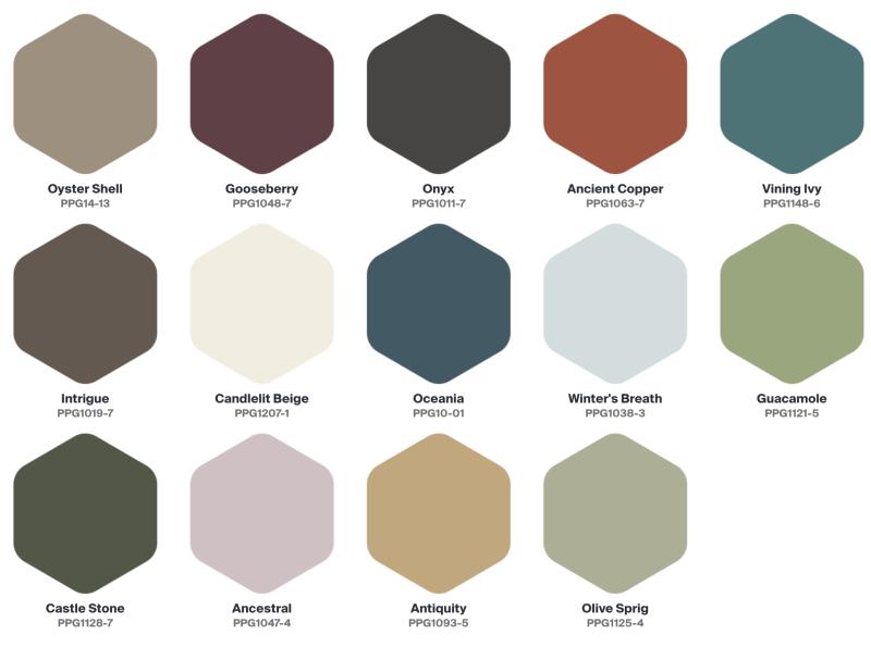 ppg-olive-sprig-kleur-2022-invaluable-kleurenpalet