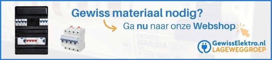 Gewiss Componenten, automaten en gewiss krachtgroep bestellen bij Gewisselektro.nl