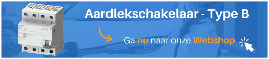 Type B Aardlekschakelaar Laadpaal