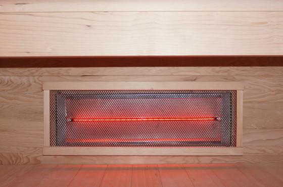 Onderste infraroodlamp
