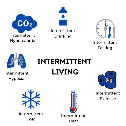 Intermittent Living
