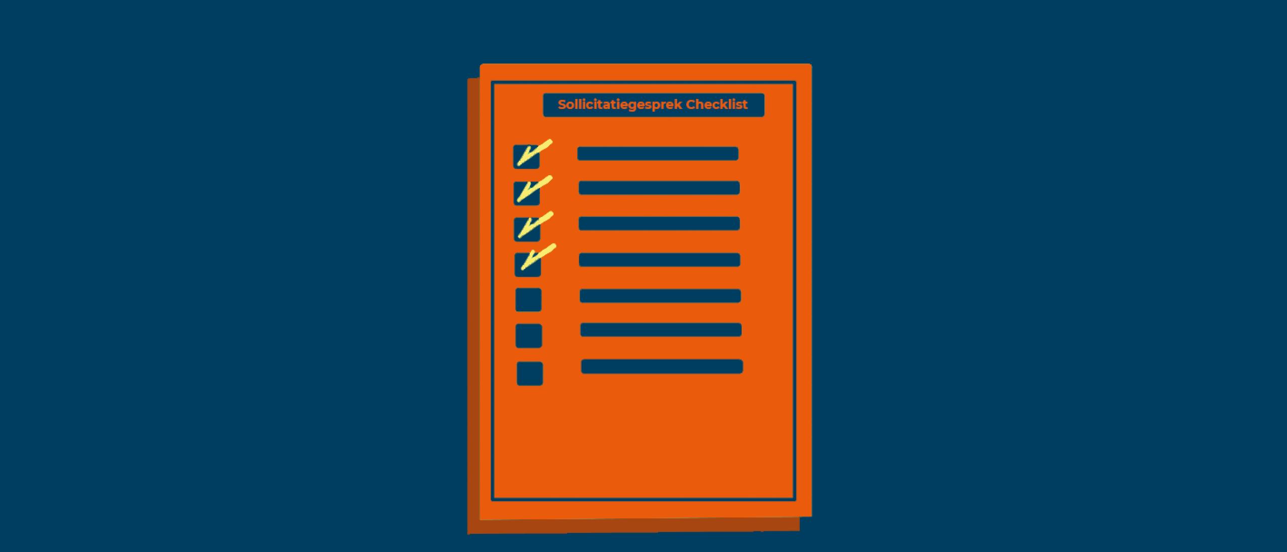 Checklist sollicitatiegesprek voor werkgevers; waar moet je op letten?