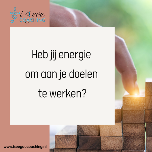 Heb jij nog energie over voor jezelf?