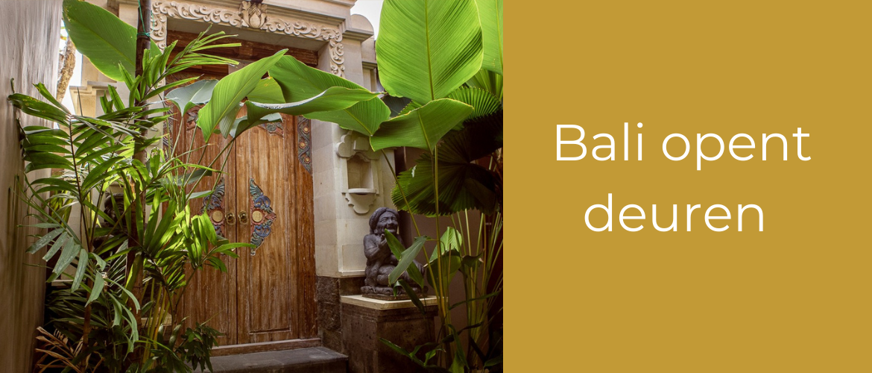 Onze deur op Bali