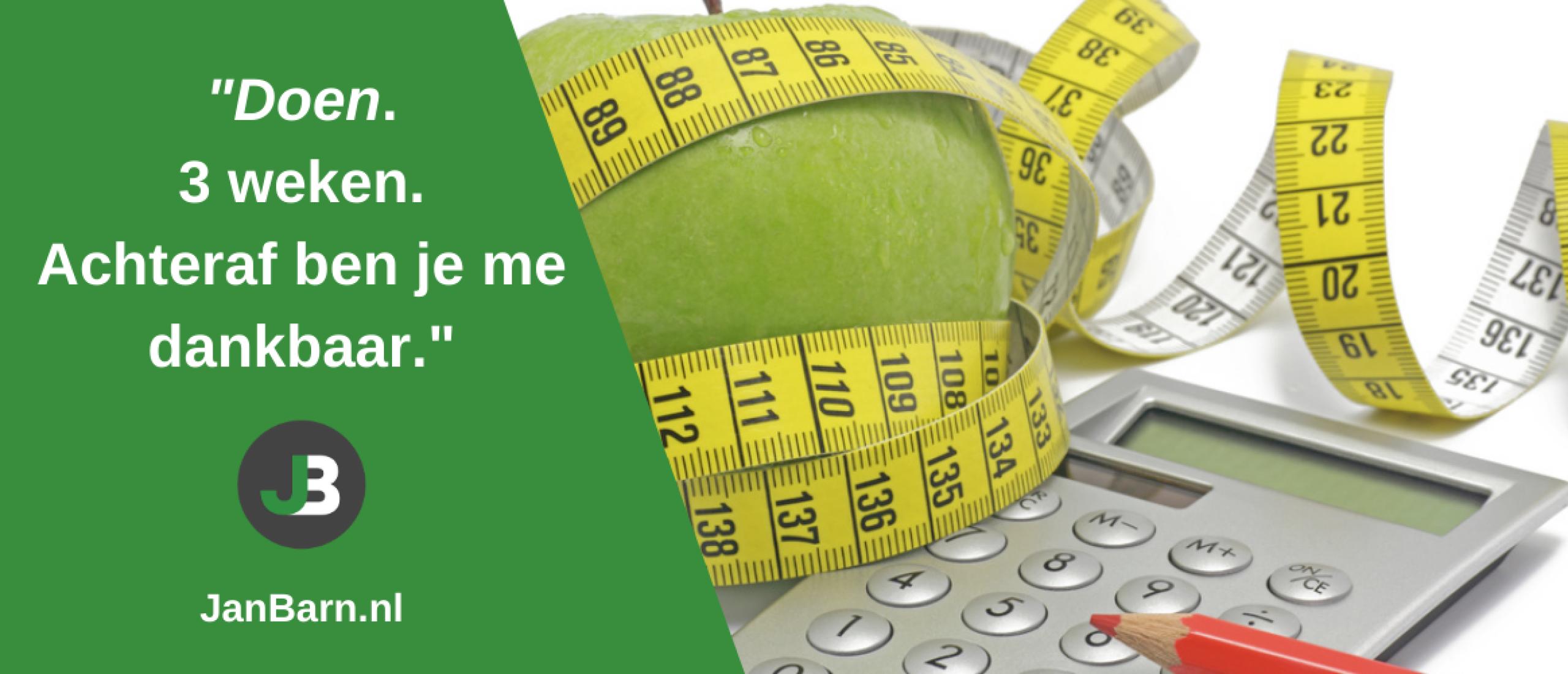 Afvallen: Hoe je in 3 weken voor altijd van het calorieën tellen afkomt