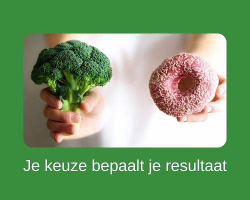 Hoe val je gezond af - je productkeuze bepaalt je resultaat