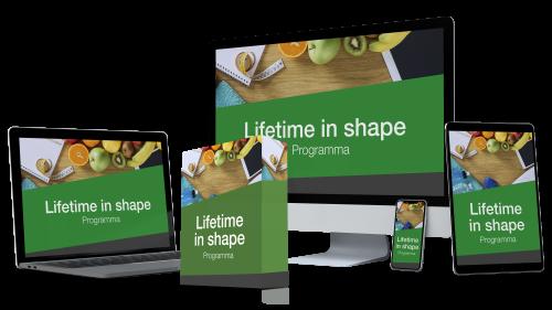 Lifetime in shape programma